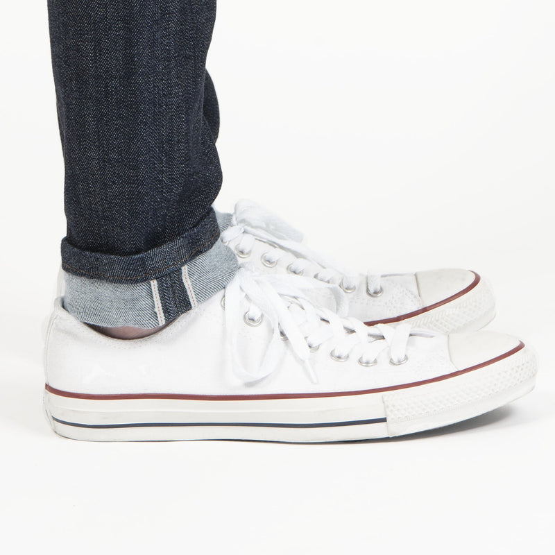 High Skinny - Hyper Flex Stretch Selvedge - hem
