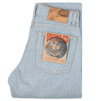 Max - Recycled Selvedge - Stone Blue