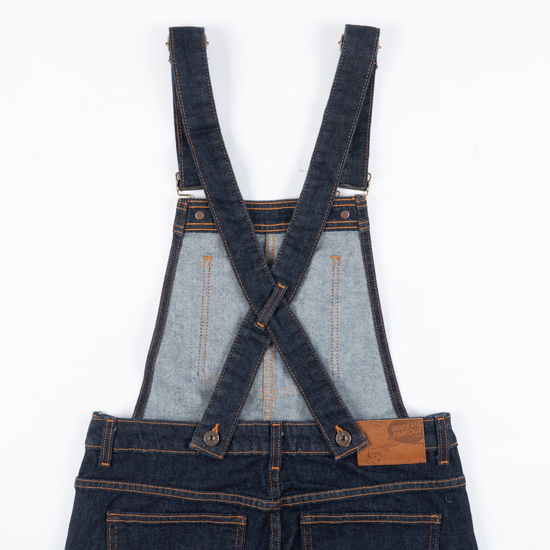 Women's - Straight Leg Overalls - 11oz Stretch Selvedge | Naked & Famous Denim