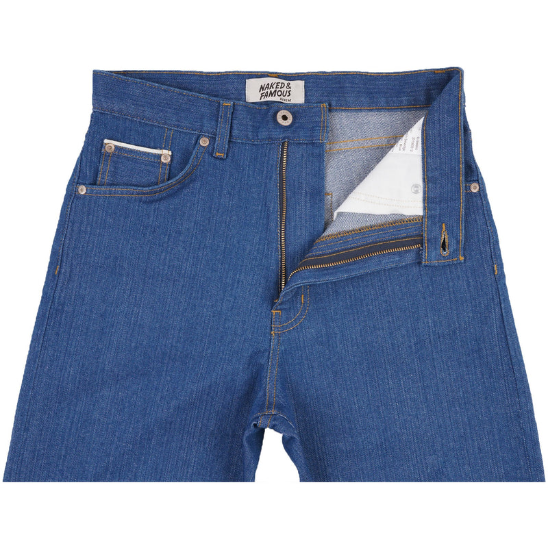 Classic - Island Blue Stretch Selvedge - front