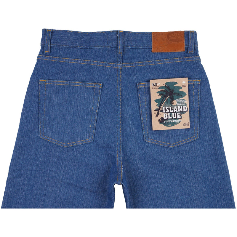 Classic - Island Blue Stretch Selvedge - back