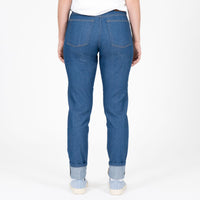Max - Island Blue Stretch Selvedge - back shot