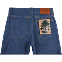 Max - Island Blue Stretch Selvedge - back
