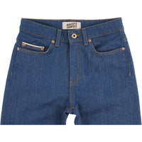 High Skinny - Island Blue Stretch Selvedge - front