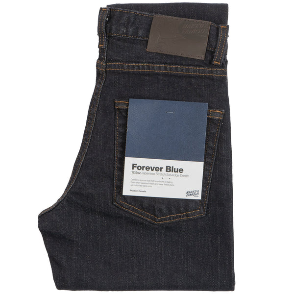 Women's Max - Forever Blue Stretch Selvedge | Naked & Famous Denim