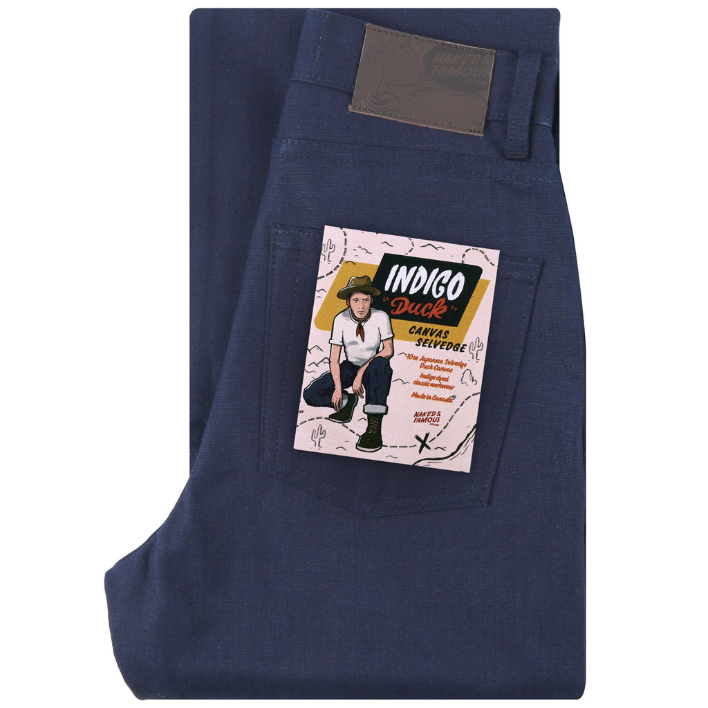 Women's - Classic - Indigo Selvedge Duck Canvas