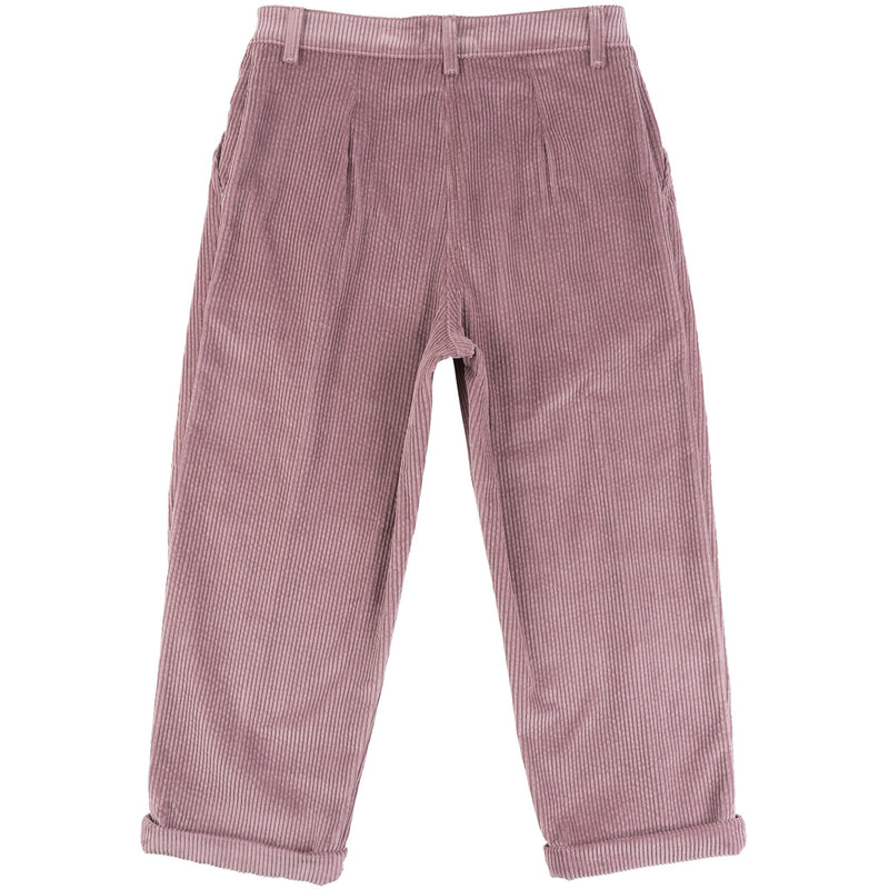 Ridge Pant - Seersucker Corduroy - Blush - BACK