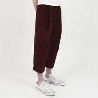 Ridge Pant - Seersucker Corduroy - Burgundy - side