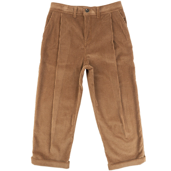 Ridge Pant - Seersucker Corduroy - Brown - front