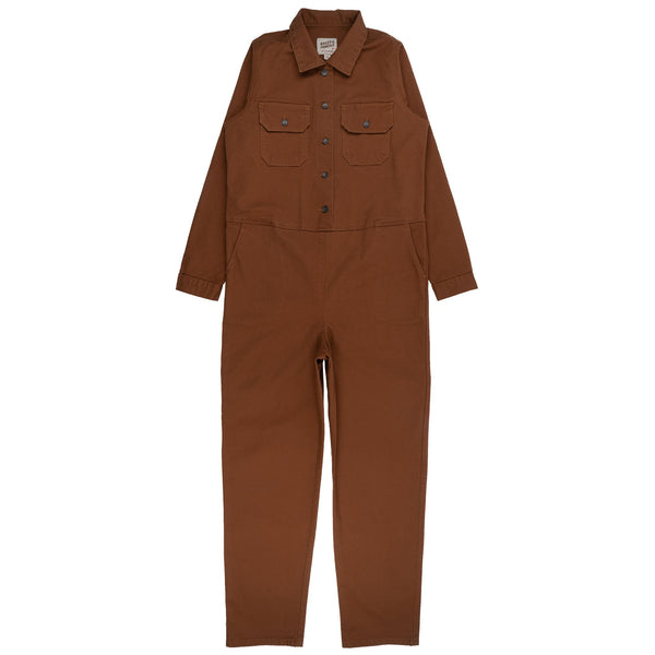 Women's - Coverall - Brick Canvas - front