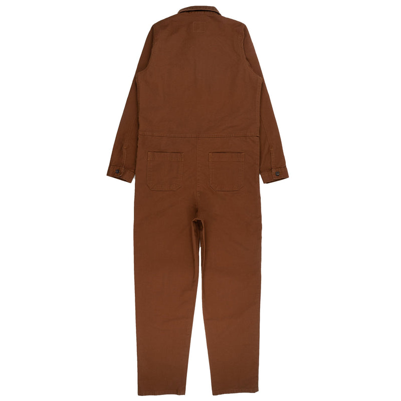 Women's - Coverall - Brick Canvas - back