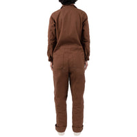 Women's - Coverall - Brick Canvas - model back