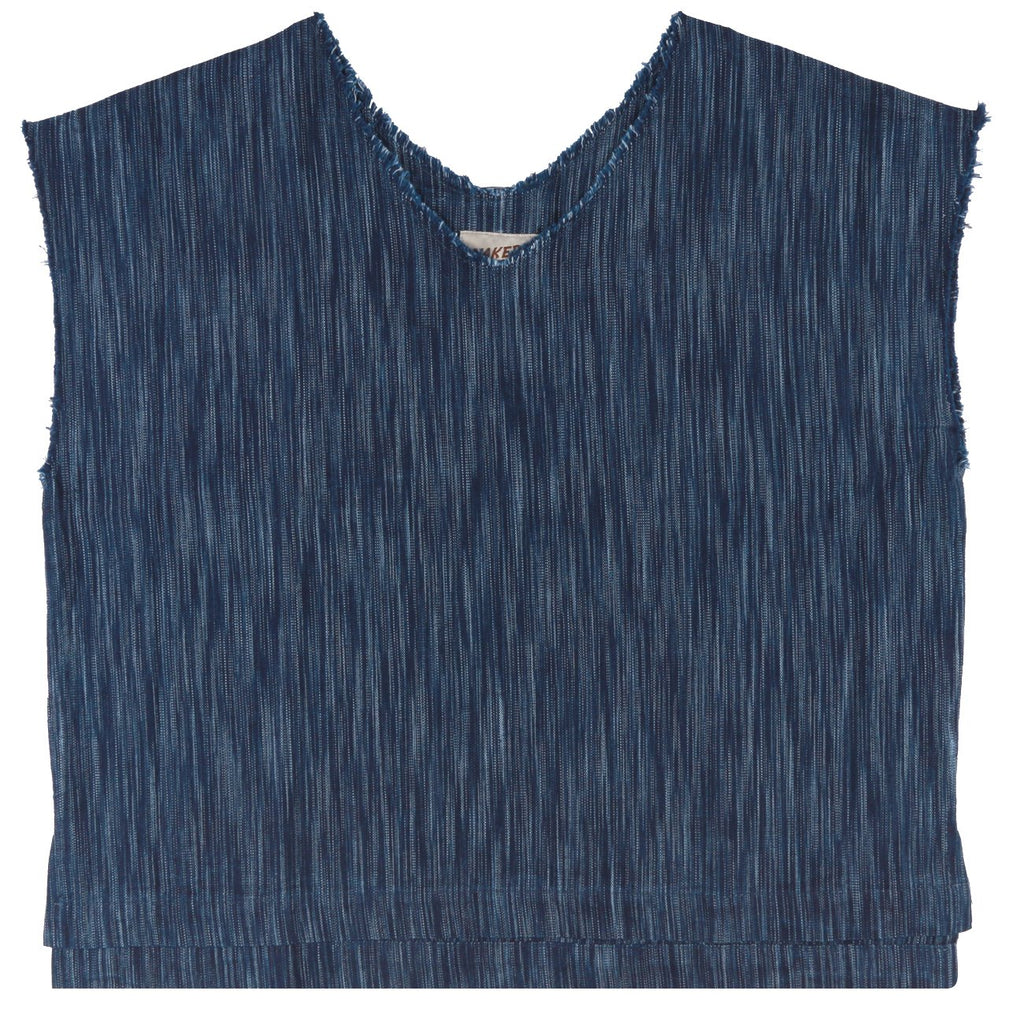 Indigo tie dye top | Naked & Famous Denim