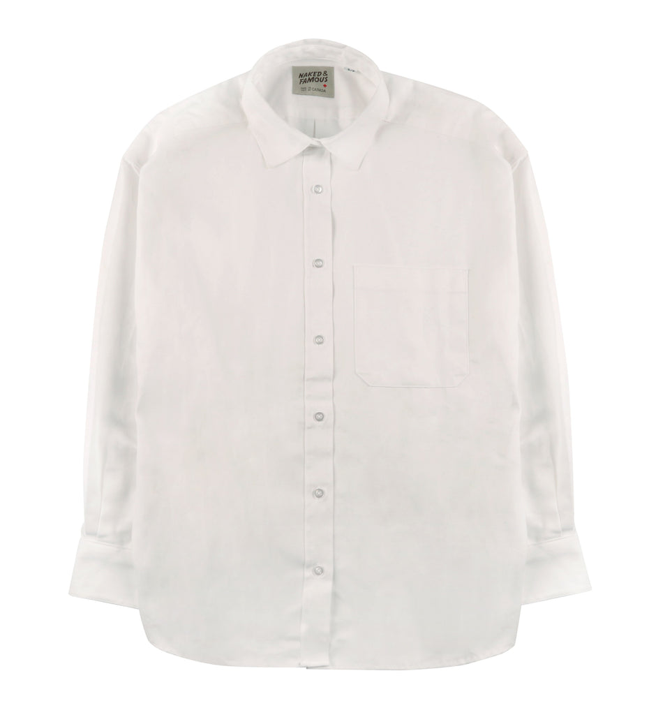 Women's - Easy Shirt - Oxford - White