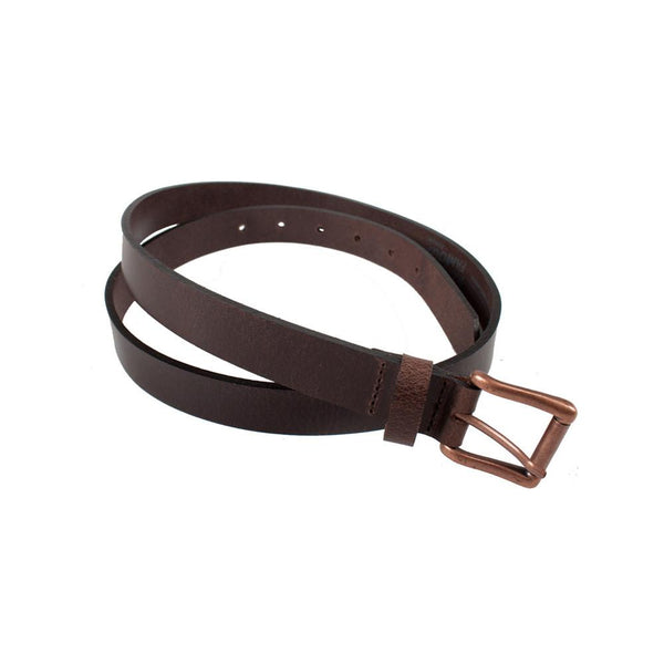 Buffalo Belt - Brown | Naked & Famous Denim