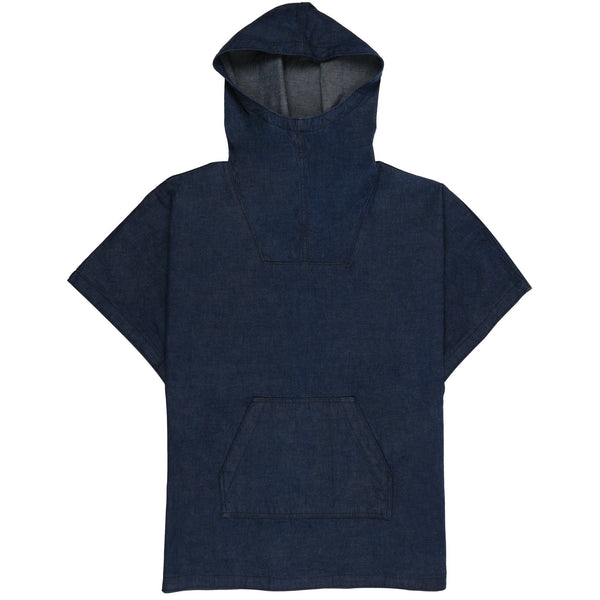 Women's - Anorak - Classic Blue Dungaree | Naked & Famous Denim