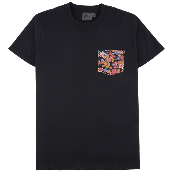 Pocket Tee - Black + Japan Festival - Front