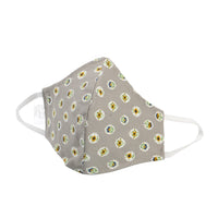 Protection Face Mask - Grey Floral