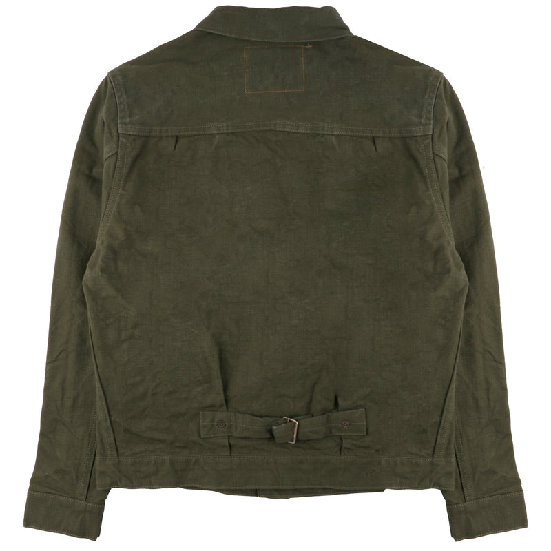 Olive Heavy Duck Jacket 1928 by Burgus Plus