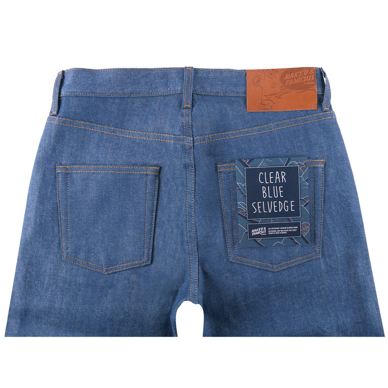 Strong Guy - Clear Blue Selvedge | Naked & Famous Denim