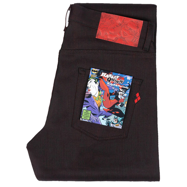 Super Guy - Harley Quinn - The Queen Of Chaos Selvedge | Naked & Famous Denim