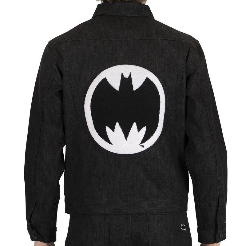 Denim Jacket - Batman - Dark Knight Selvedge With Embroidery