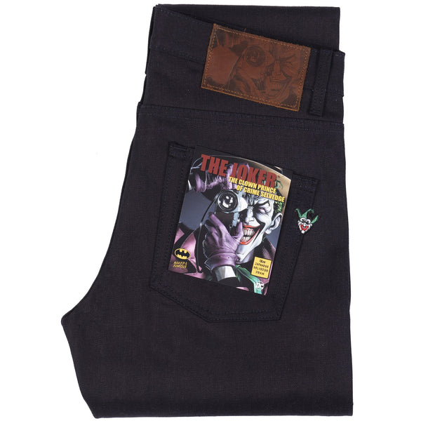 Super Guy - Joker - The Clown Prince Of Crime Selvedge | Naked & Famous Denim