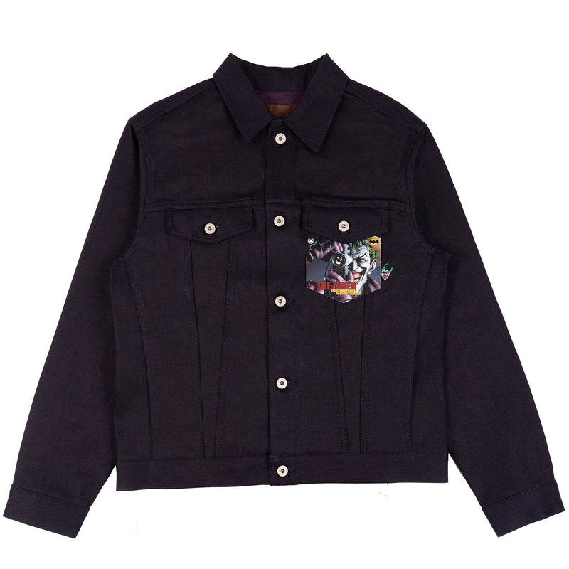 Denim Jacket - Joker - The Clown Prince Of Crime Selvedge | Naked & Famous Denim