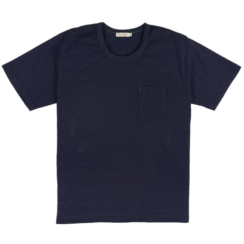 BP19602-IN - Short Sleeve Indigo Tee - Indigo