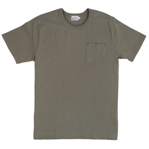 HBP-001-Ol - Short Sleeve Pocket Tee - Olive