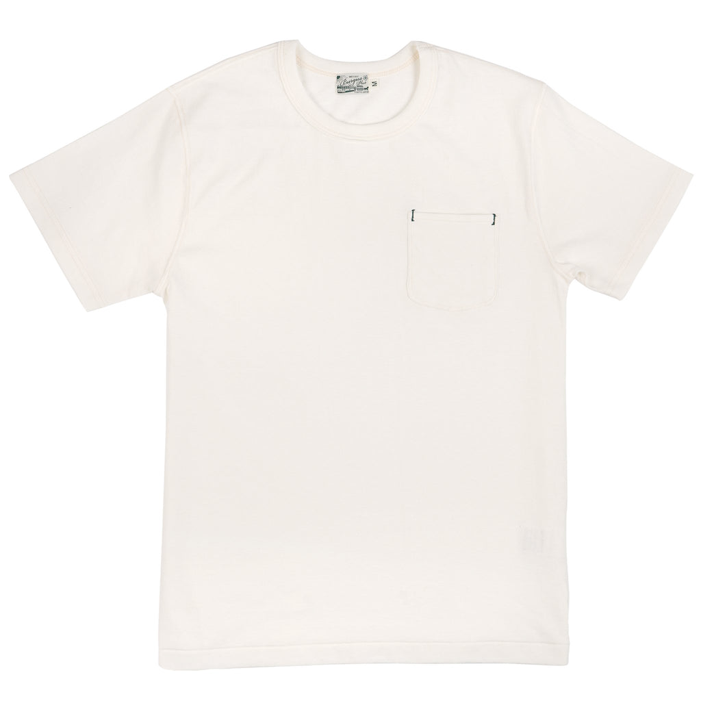 HBP-001-PI - Short Sleeve Pocket Tee - White