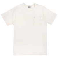 HBP001WH - Short Sleeve Pocket Tee - White