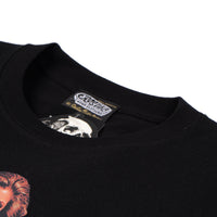 Claudia Wells SS T-shirt - Black