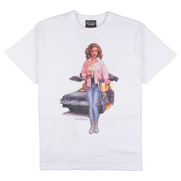 Claudia Wells SS T-shirt - White