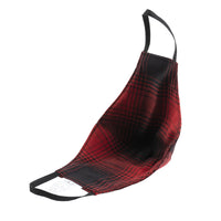 Protection Face Mask - Shadow Check Red/Black - 2