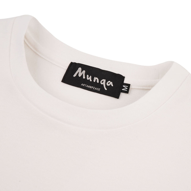 Maria T-Shirt - White - collar
