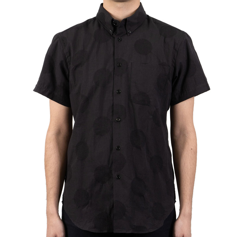 Short Sleeve Easy Shirt - Circle Dobby - front shot