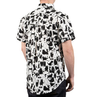 Short Sleeve Easy Shirt - Funny Cats - back shot
