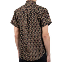 Short Sleeve Easy Shirt - Retro Mod- back shot