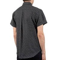 Short Sleeve Easy Shirt - Kimono Circles - back shot