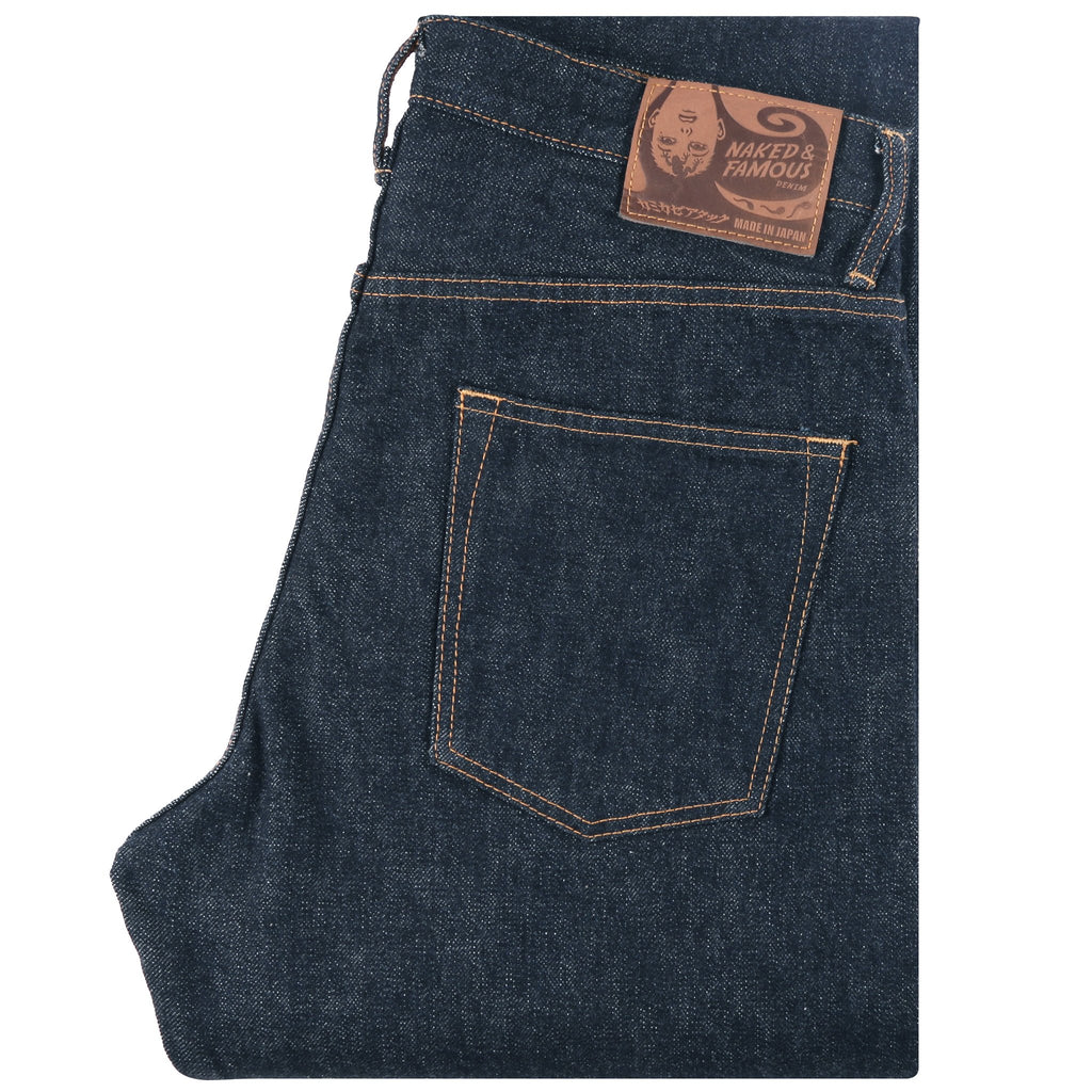 Naked & Famous Denim x Kamikaze Attack - Easy Guy - 14.5oz Unsanforized Tempi Treated Denim