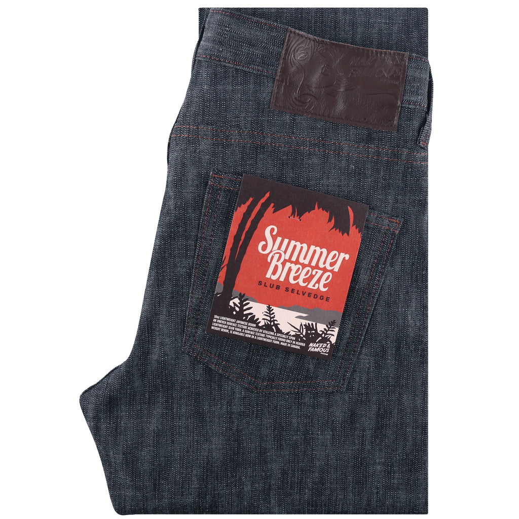 Super Guy - Summer Breeze Slub Selvedge | Naked & Famous Denim
