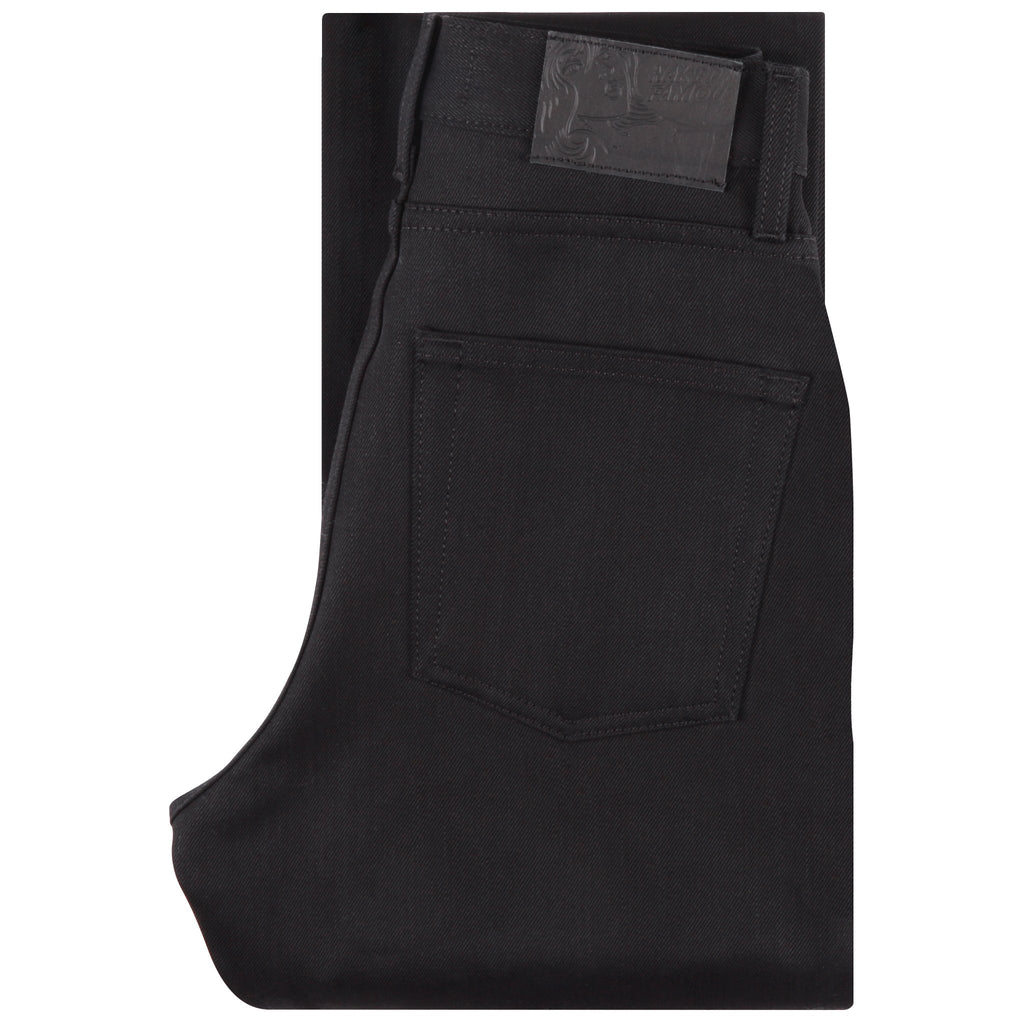 Women's - The Classic - Solid Black Selvedge