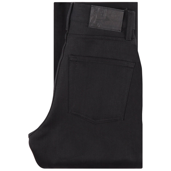 Women's - Classic - Solid Black Selvedge | Naked & Famous Denim