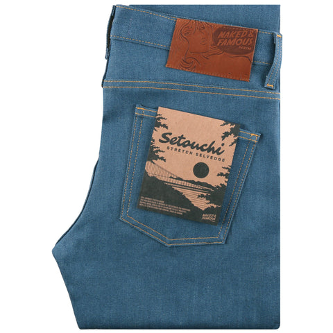 Super Guy - Setouchi Stretch Selvedge | Naked & Famous Denim