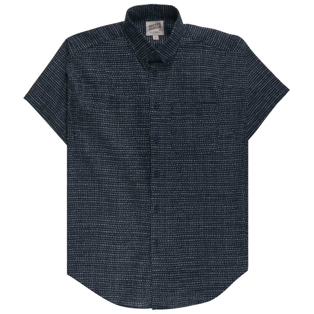 Short Sleeve Easy Shirt - Kimono Chon | Naked & Famous Denim