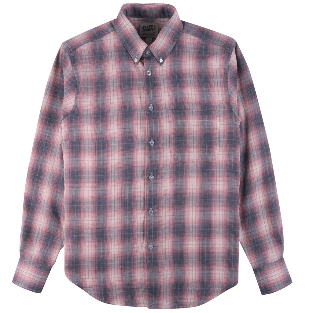 Easy Shirt - Double Plaid Cloth | Naked & Famous Denim