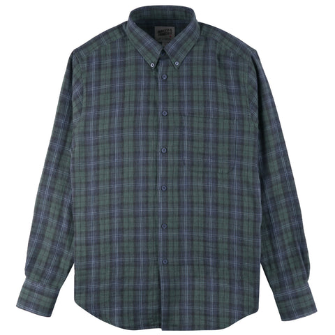Easy Shirt - Plaid Double Cloth | Naked & Famous Denim