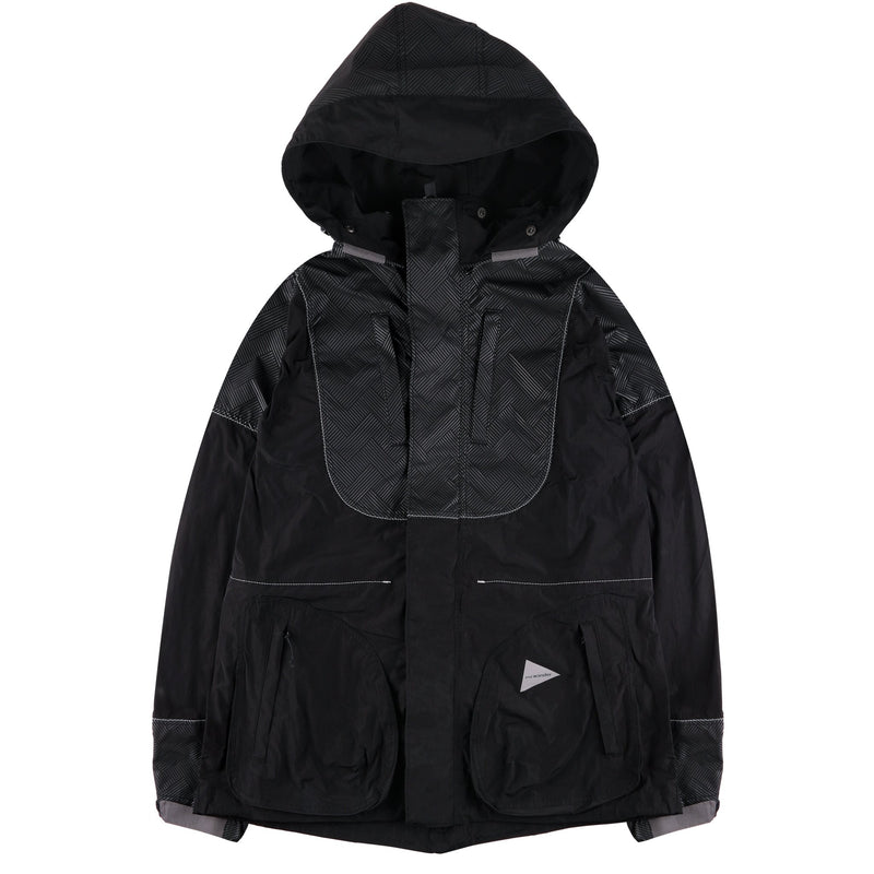 AW91-FT040 - Water Repellent Jacket - Black