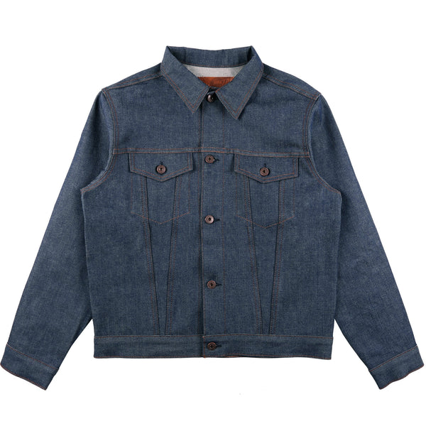 Denim Jacket - Natural Indigo Selvedge | Naked & Famous Denim